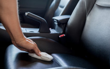 nano coating keeps leather clean prevents stickiness
