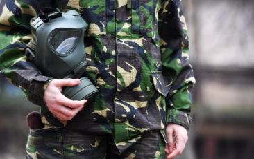 fabric coating can protect soldiers
